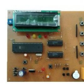 Access Control System with LCD