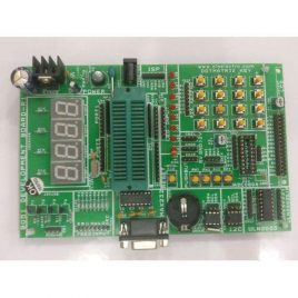 8051 Development Board With 40Pin ZIF-RTC-EEPROM_7-Segment