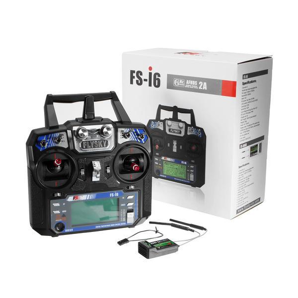 Flysky FS-i6 2 4 GHz 6 CH Radio Set