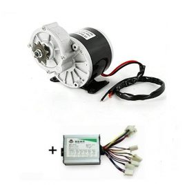 24V 250W DC Geared Motor With Driver For Ebike