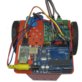 Arduino Based Bluetooth Control Robot Ready