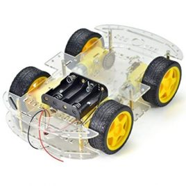 DIY Smart Car Transparent Chassis 4WD / Racing Car / Robot Car