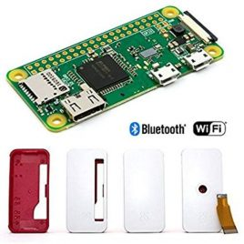 Raspberry Pi Zero-W V1.3 Development Board With Official Case