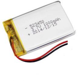 3.7V 1000mAh Lipo Battery