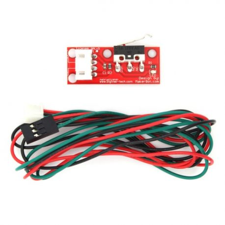 3D Printer Mechanical Limit Switch With Wire