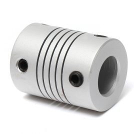 Aluminum Flexible Coupling -5mm To 5mm