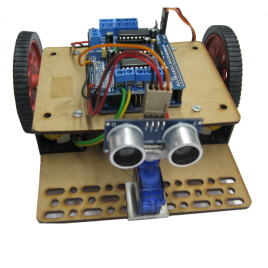 Arduino Based Obstacle avoider Robot