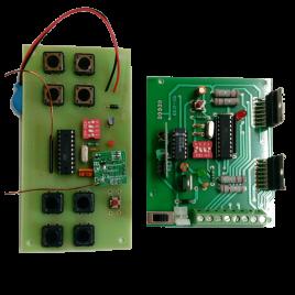 Remote Control Circuit-4 CH