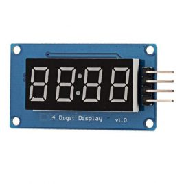 4 Digit TM1637 Clock Display Module For Arduino