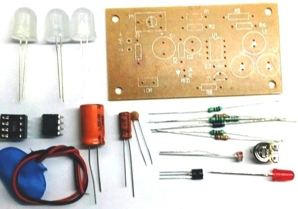 Auto. Night Lamp DIY Kit