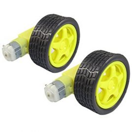 Dual Shaft BO Motor And Wheel 2-Set