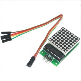 MAX7219 8x8 LED Dot Matrix Display Module