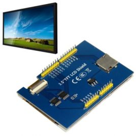 "3.5"" Touch LCD Shield For Arduino Uno-Mega"