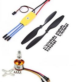 1200KV Brushless Motor-30A ESC With 1045 Propeller set