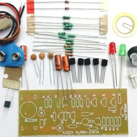 Knock Alarm DIY Kit