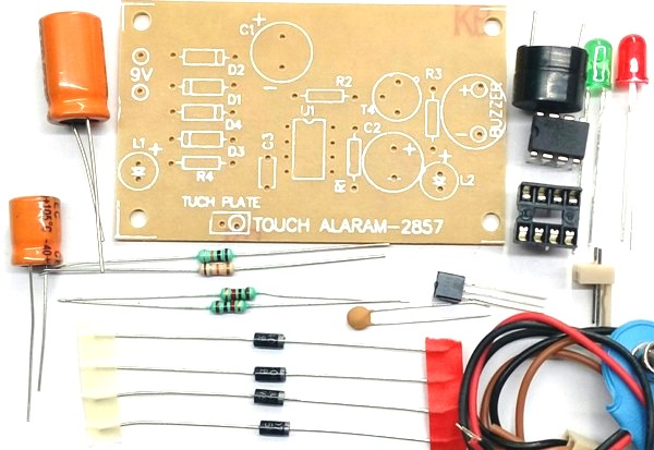 Touch Alarm DIY Kit