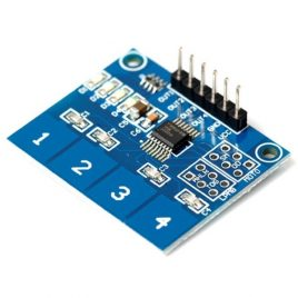 TTP224-4 Way Capacitive Touch Switch Module