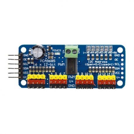 16-CH. 12-bit PWM/Servo Driver-I2C-PCA9685 for Arduino-Raspberry Pi