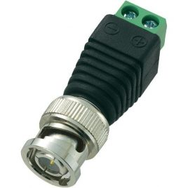 BNC Plug DC Adapter For IP CCTV Camera