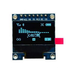 "0.96"" IIC/SPI Serial 128x64 OLED Display Module-7Pin"