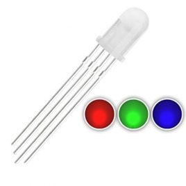 RGB LED Common Anode- 4 Pin - 10Pcs