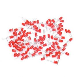 Red LED 5MM High Bright-100Pcs