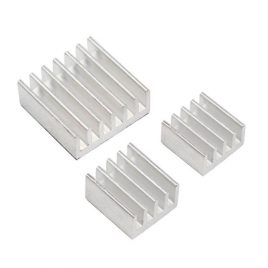 Heat Sinks For Raspberry PI 3 Model A/A+/B/B+ Set Of 3 Pure Aluminium