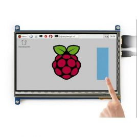 "7"" TFT LCD 800*480 HDMI -USB -For Raspberry Pi"