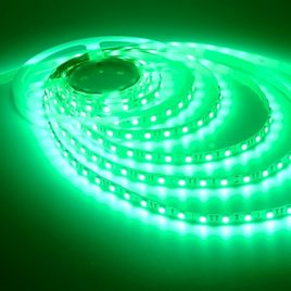 Green Flexible LED Strip Light - 12 Volt -Non Waterproof -300LED/5M