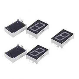 7 Segment Common Cathode Display Red-5 Pcs