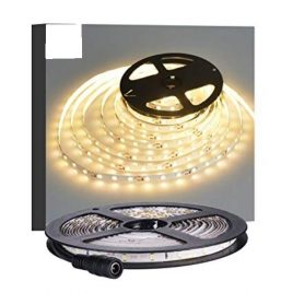 Waterproof warm White LED Light Strips – 12Volt- 60LEDs-M-300LEDs Per Roll