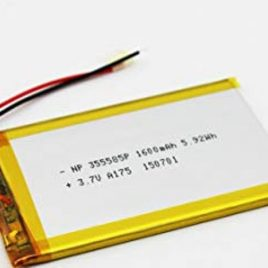 3.7V 1600mAh LiPo Rechargeable Battery