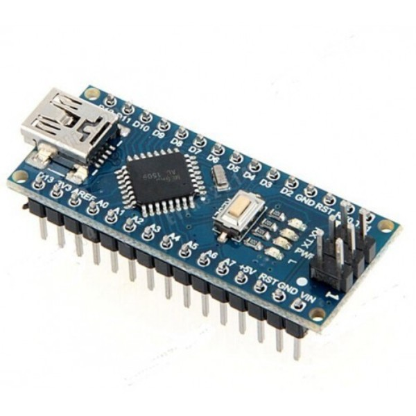 Arduino Nano Board R3 With CH340 Chip Soldered Pins
