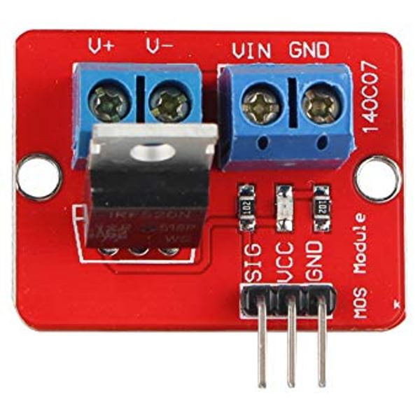 Irf520 MOSFET Transistor Driver Driver Module compatible with Arduino /& Raspberry