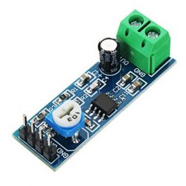 LM386 based 20 Multiplier Gain Audio Amplifier Module