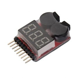 LiPo Battery Alarm Low Voltage Indicator Tester Buzzer 1-8S