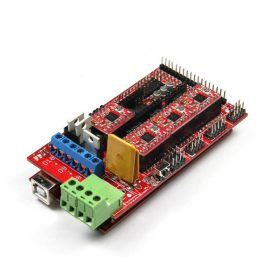 RAMPS 1.4 3D Printer Controller + 4Pcs 4988 Driver With Heat Sink Kit