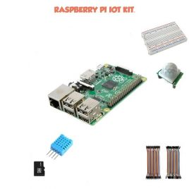Raspberry PI 3 B+ – WEB Of Things Starter KIT-DIY