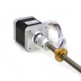 Stepper Motor 4.4K KGCM With Lead Screw For 3D Printer