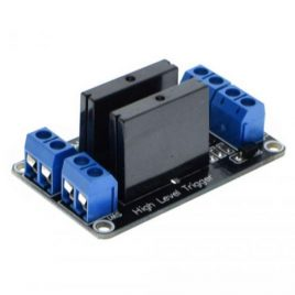 Solid State Relay (SSR) Module 5V 2 Ch High level