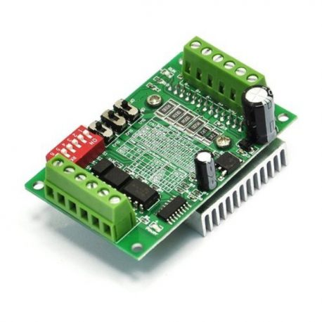 tb6560-stepper-motor-driver-board-3A with heat sink