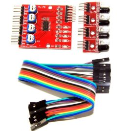 4-Way Infrared Tracking Obstacle Avoidance Sensor Module