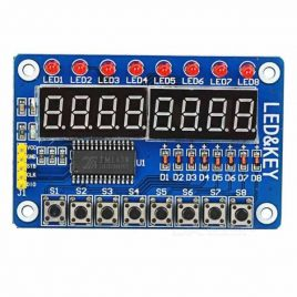 8-Bit Digital LED TM1638 Key Display Module for Arduino