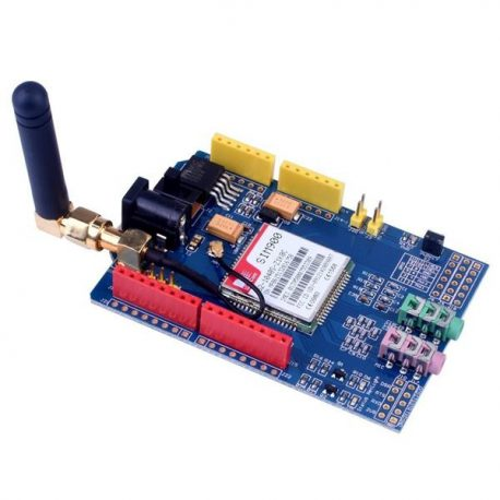 SIM900 GPRS-GSM Shield Development Board Quad-Band Module