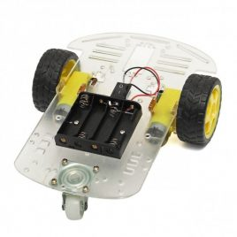 2WD Smart Motor Robot Car Chassis kit With Battery Box & Speed Encoder