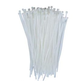Nylon Flexible Cable Tie White -400mm-100Pcs. Pack