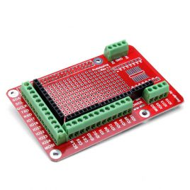 Prototyping Expansion Shield For Raspberry Pi 3 Model B & B+