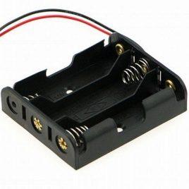 3 x AA Battery Holder For 4.5V Output