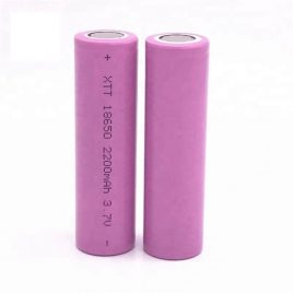 Lithium-Ion Battery Cell 18650 3.7V 2200mAh – 1Pcs