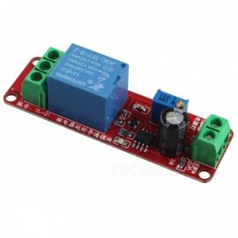 12V NE555 Oscillator Delay Timer Switch Module Adjustable 0-10 Second